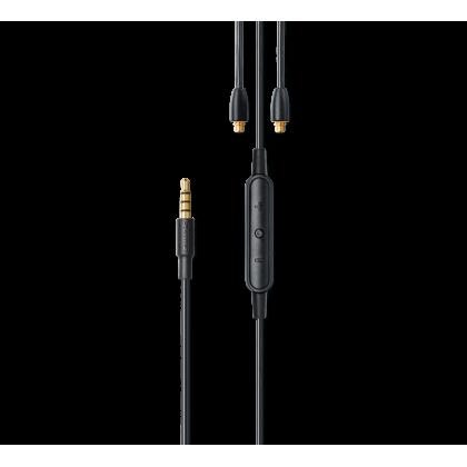 RMCE/RMCE-UNI SHURE Earphone Accessory Cable with Remote + Mic for SE Model Earphones (SE215, SE315, SE425, SE535 and SE846)