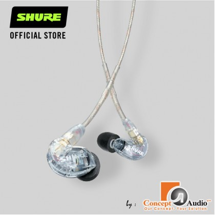 SHURE SE215 Sound Isolating Earphone ( Clear ) [SE215-CL-A]