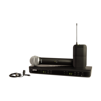 BLX1288/CVL WIRELESS COMBO SYSTEM WITH PG58 HANDHELD AND CVL LAVALIER