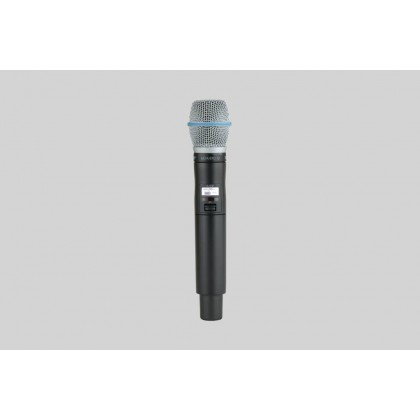 ULXD2/B87C ULXD2 DIGITAL HANDHELD TRANSMITTER WITH BETA 87C CAPSULE
