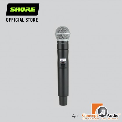 [PRE-ORDER] ULXD2/SM58 ULXD2 DIGITAL HANDHELD TRANSMITTER WITH SM58 CAPSULE ( ETA : After 4 weeks order placed )