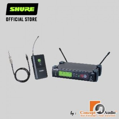 [PRE-ORDER] SHURE SLX14 Wireless system with WA302 Instrument Cable  (ETA: 4 weeks after order placed)