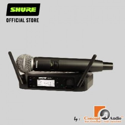 SHURE GLXD24/SM58 Wireless Vocal System with SM58 Vocal Mircophone