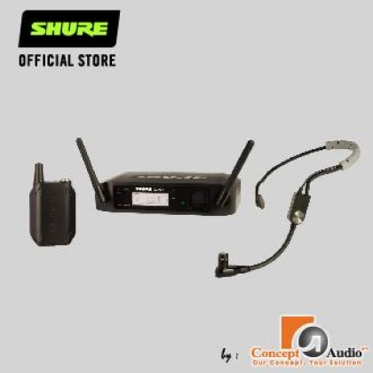 SHURE GLXD14/SM35 Wireless Headset System with SM35 Headset Microphone