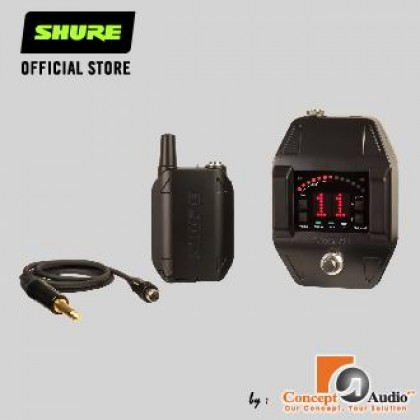 SHURE GLXD16 Wireless System for Guitarists and Bassists with Digital Pedal Receiver