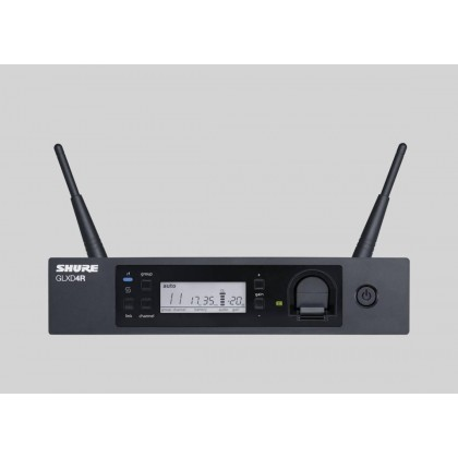 SHURE GLXD24R/B87A GLX-D Advanced Digital Wireless Vocal System With Beta87A Vocal Microphone