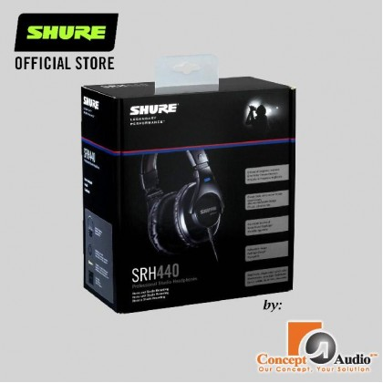 [PRE-ORDER] SHURE SRH440 (ETA: 5 weeks after order payment made successfully)