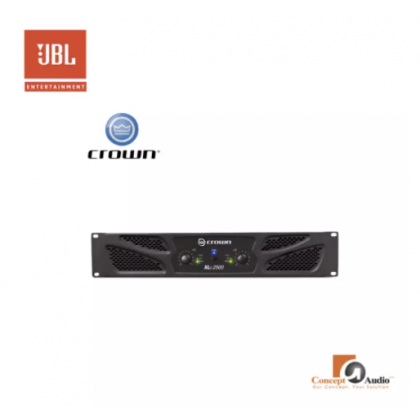 XLi 2500Two-channel, 750W @ 4Ω Power Amplifier XLi Series Professional Amplifier (Crown series)