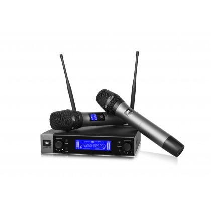 JBL VM 200 Dual-Channel Wireless Microphone System